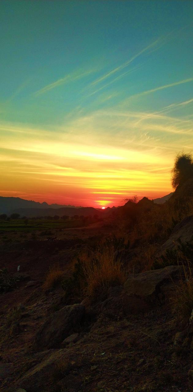 Sunset at Nakband