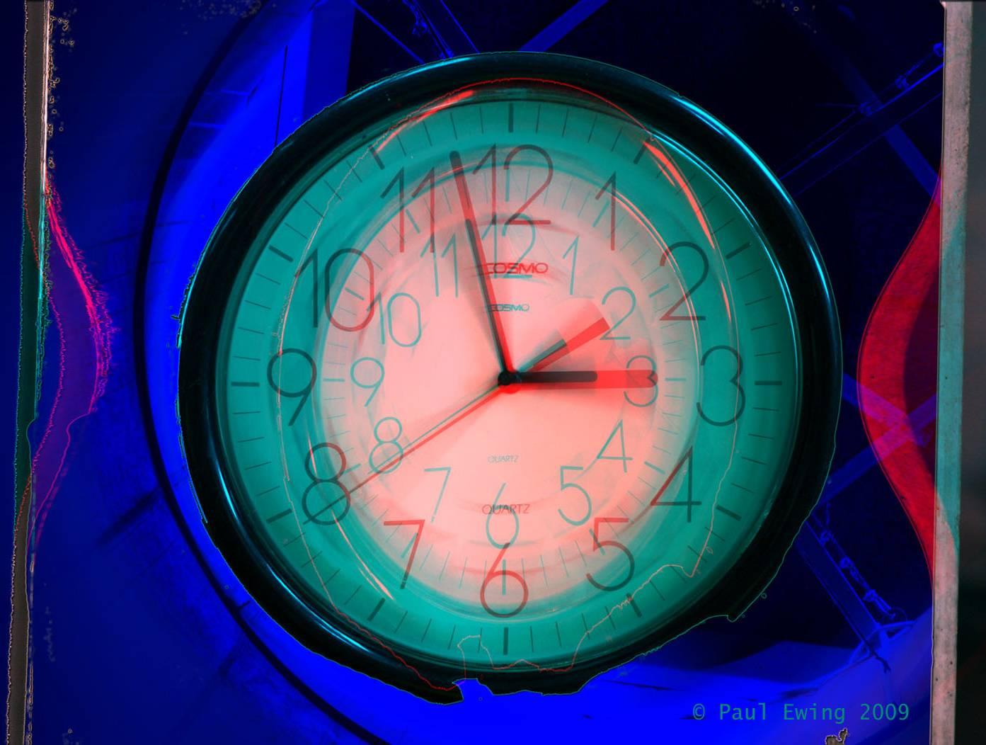 Clock Chroma Depth