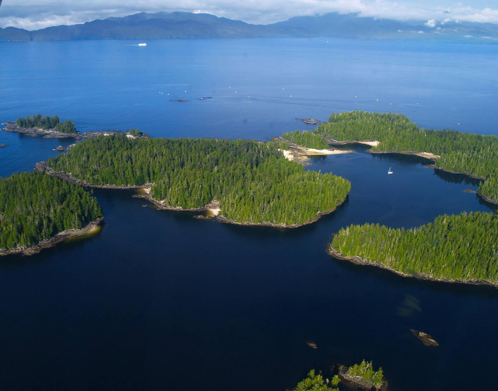 Canada Aerial View