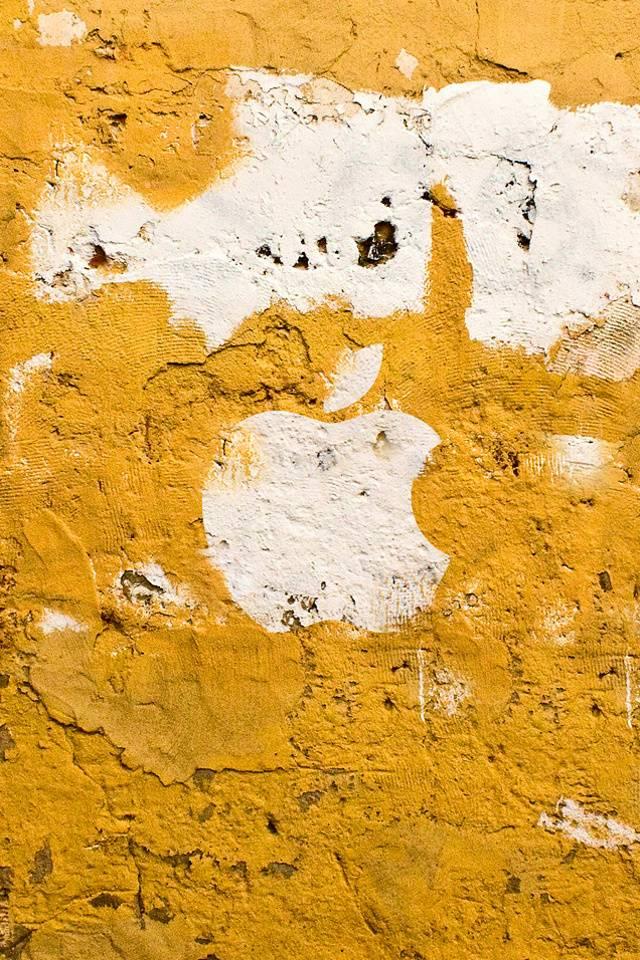 Apple Wall Yellow