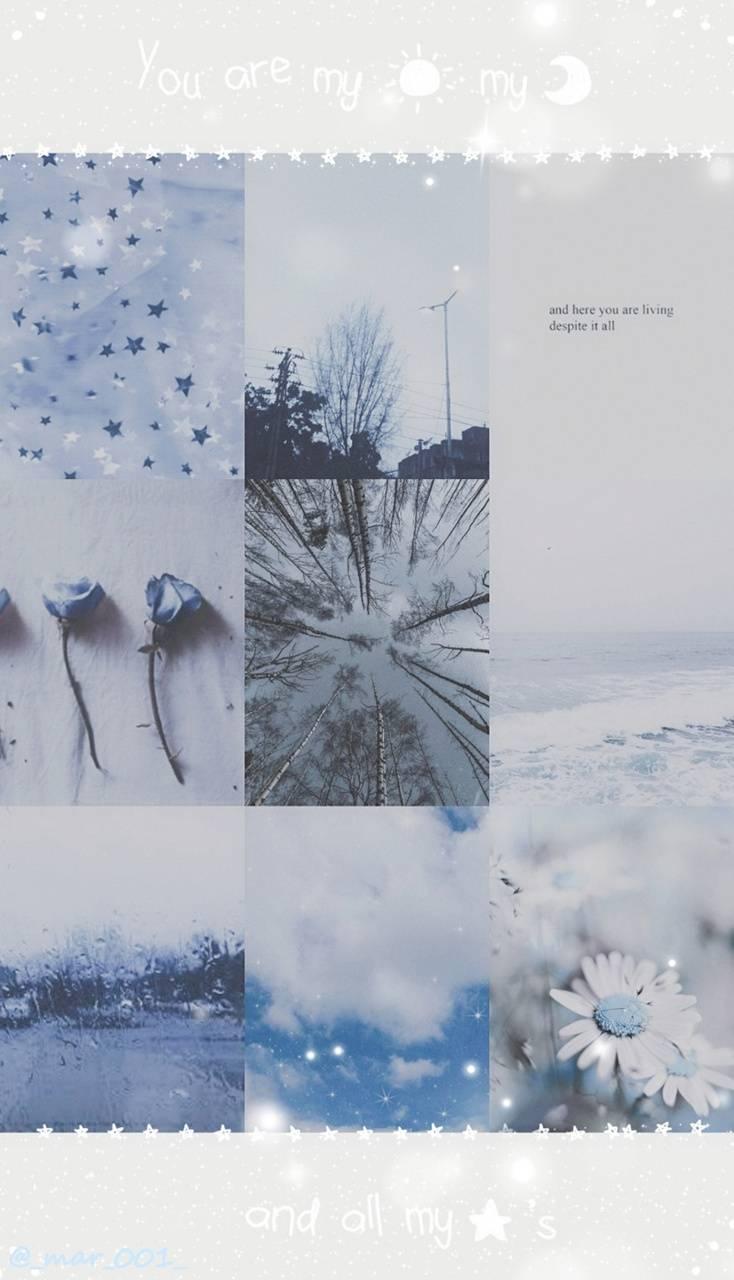 Aesthetic Gray Blue
