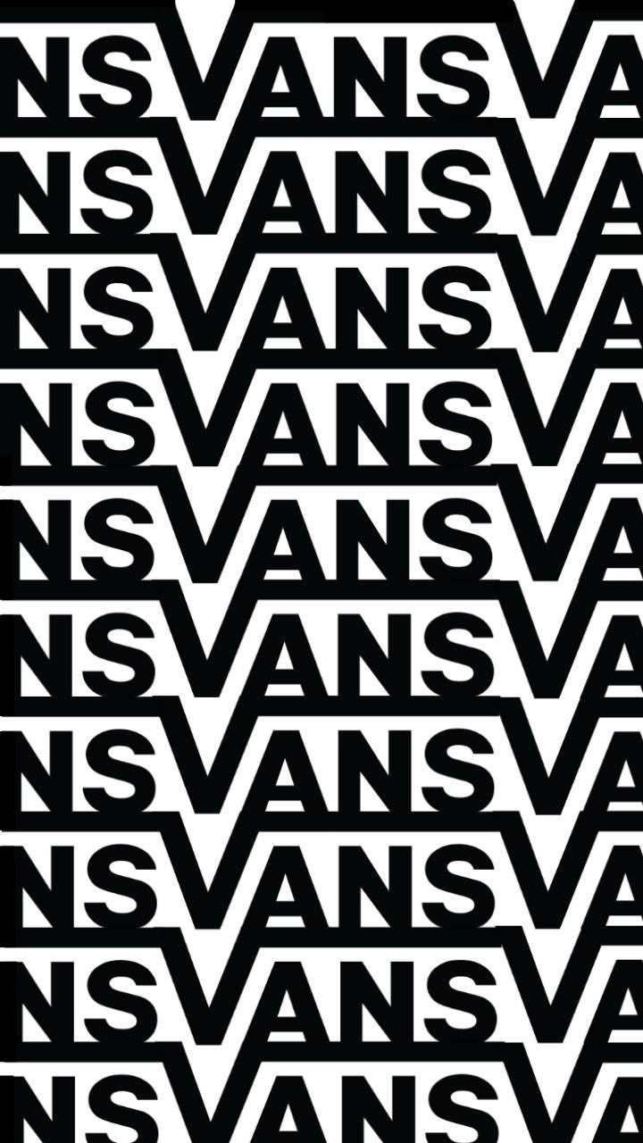 vans logo repeat