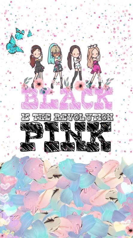 Unduh 8000 Wallpaper Blackpink Cartoon  Terbaru