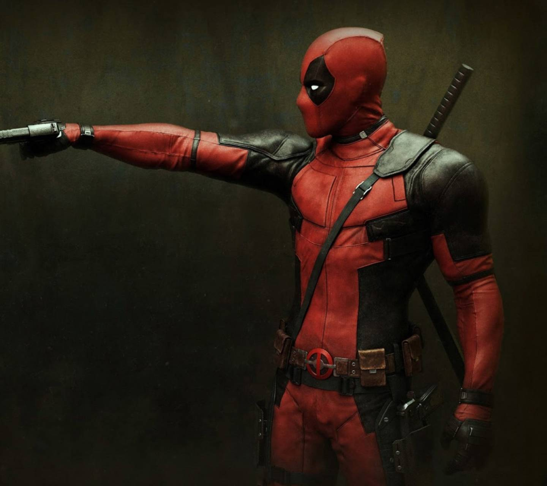 Deadpool handgun