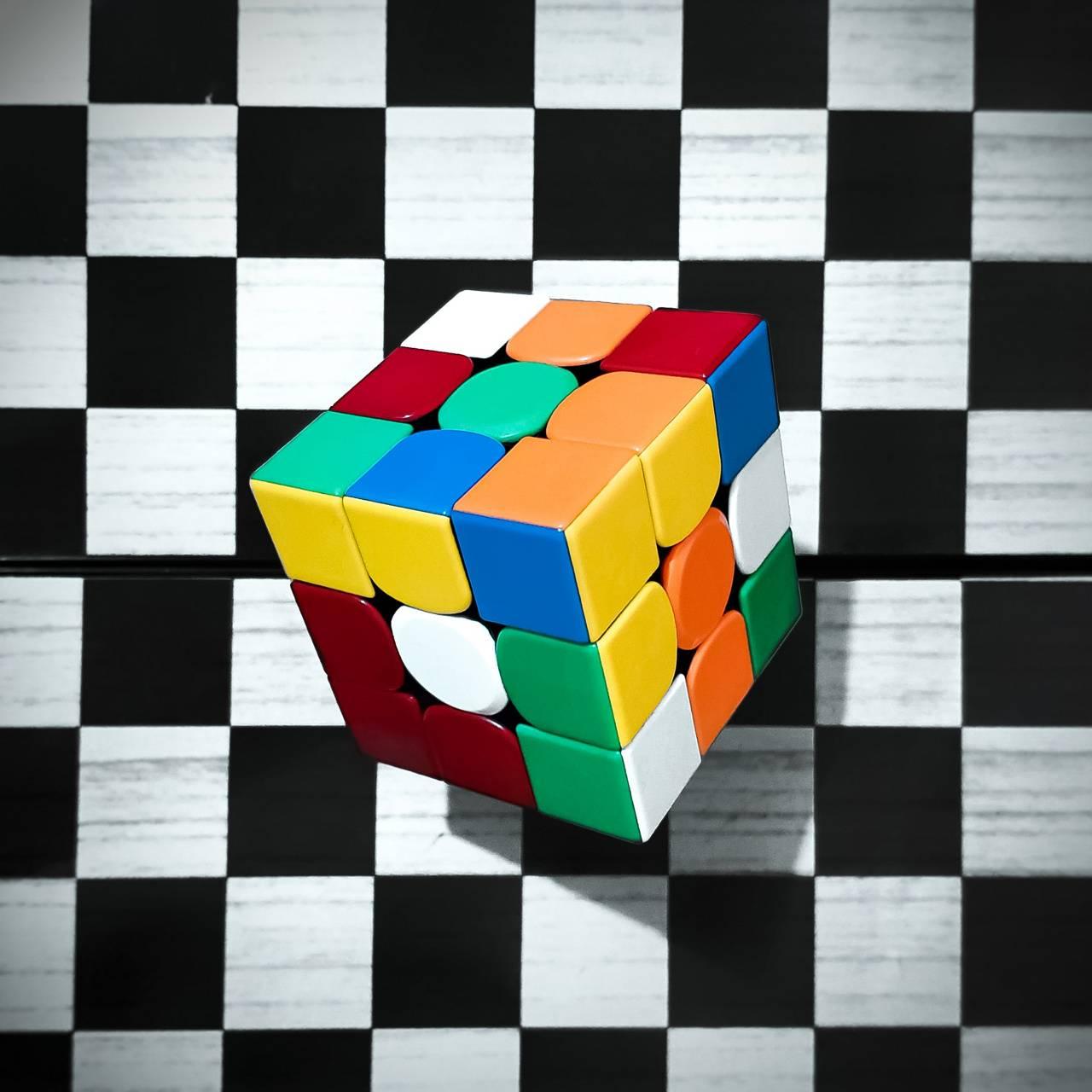 Cubo Rubik Ajedrez