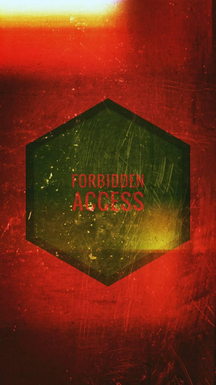 forbidden access