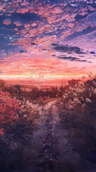 Anime nature