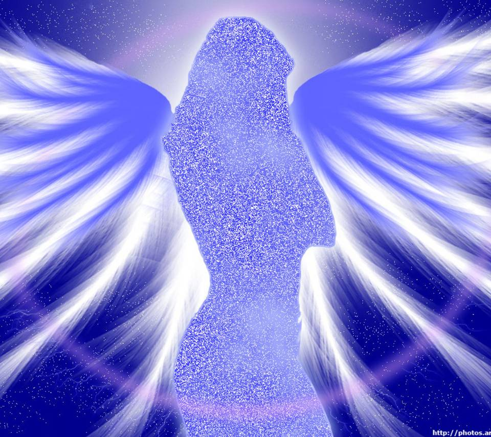 Cool Blue Angel