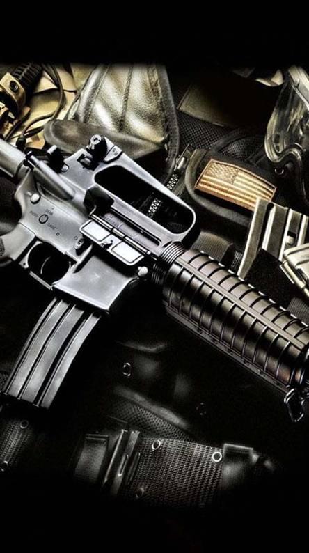 Ak47 M 4 With Gear