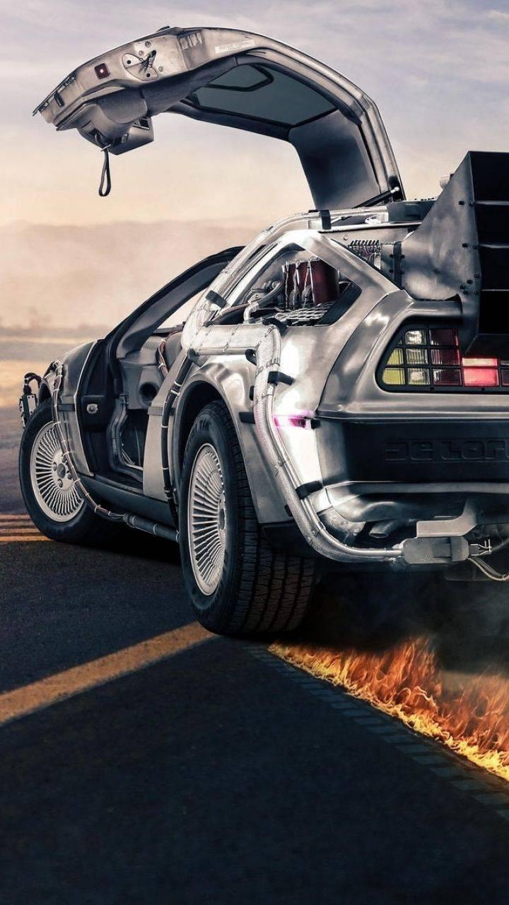 Retro Future Car