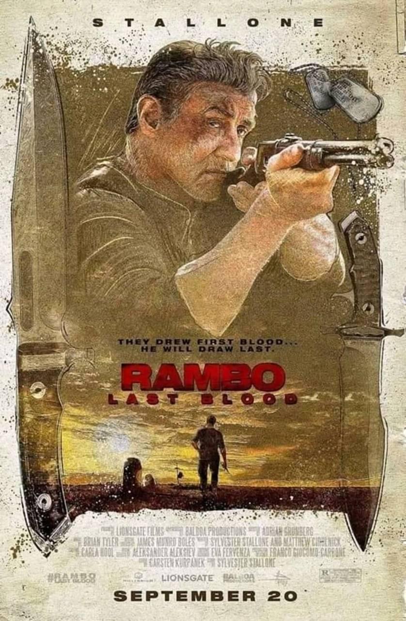 Rambo The Last Blood Wallpaper By Hellhoundrmr 2f Free On Zedge