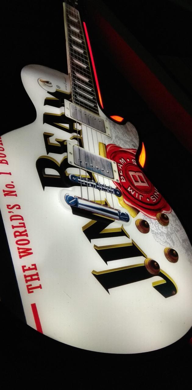 Jim Beam Guitar