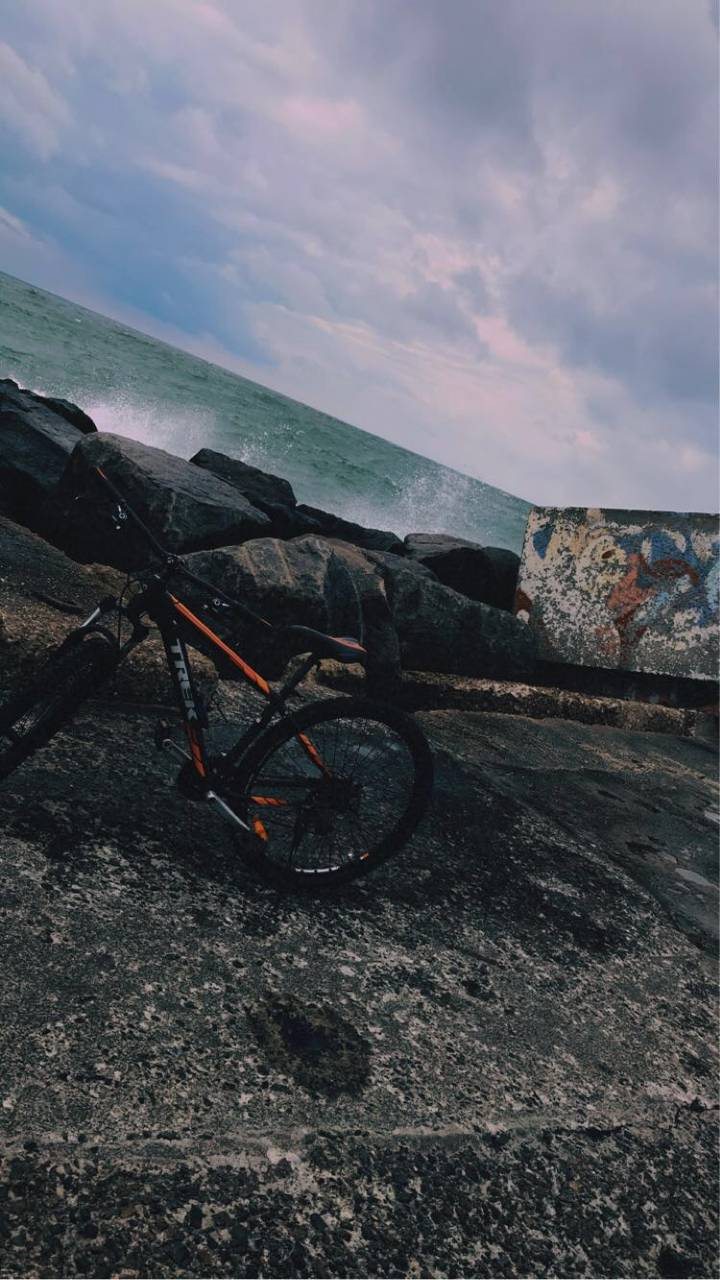 Bike And Sea