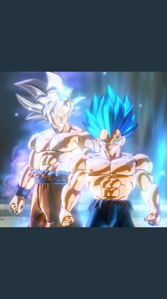 Goku UI VS Veget BE