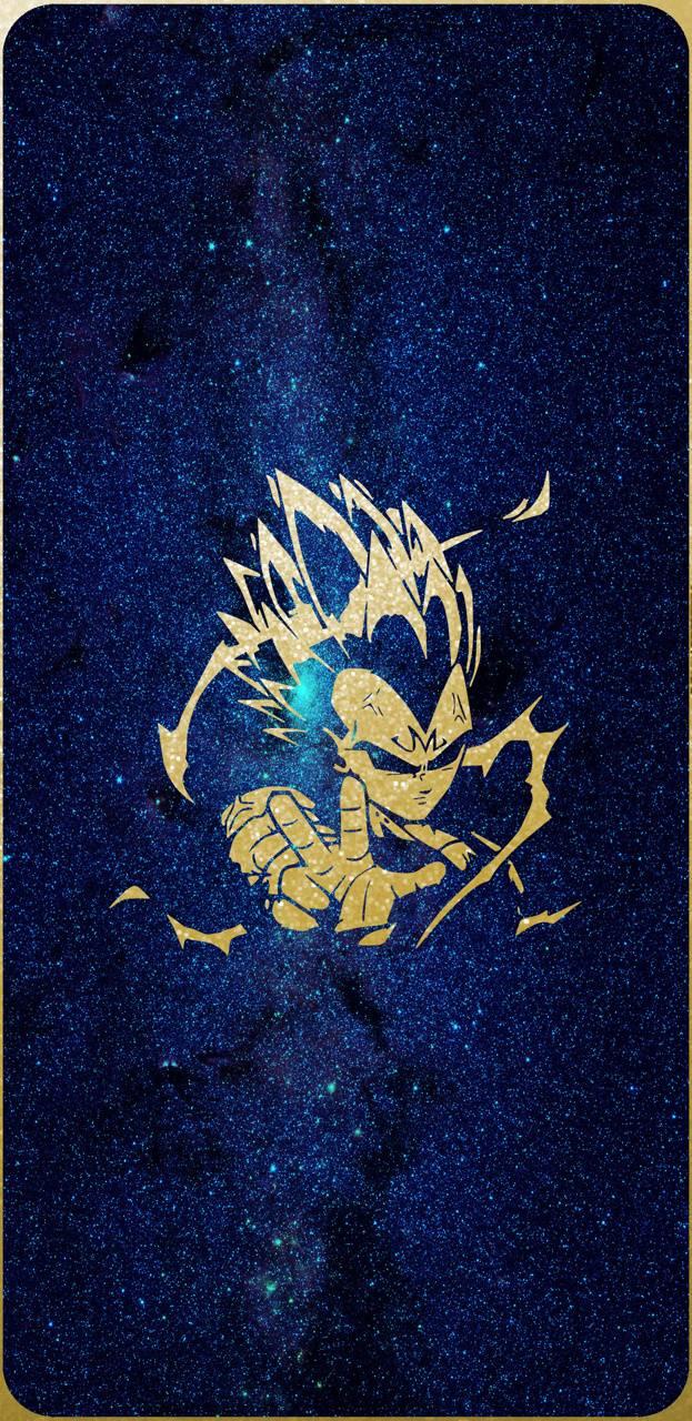 Vegeta blue gold
