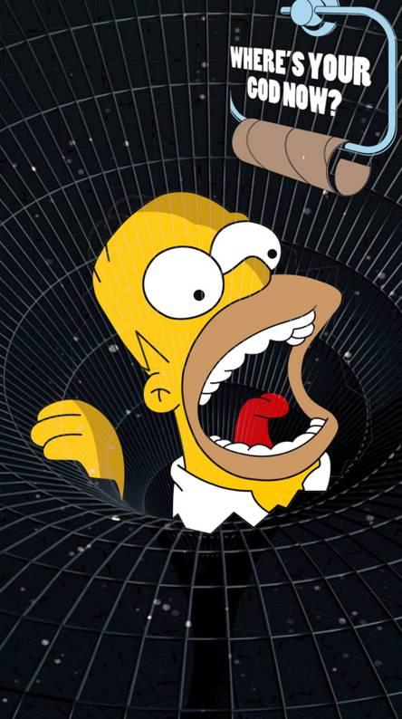Homer Black Hole