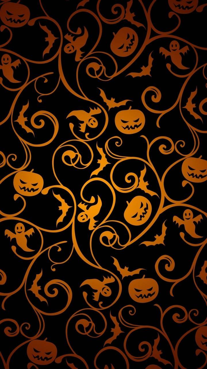halloween abstract