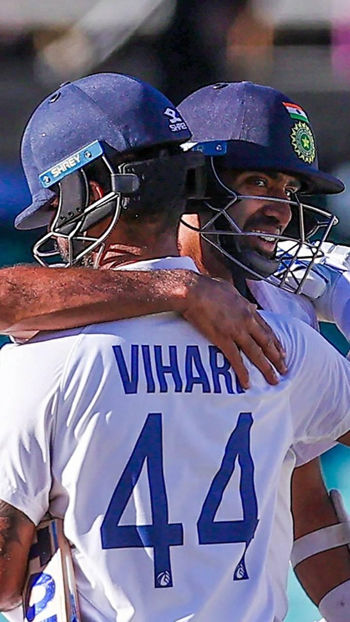 Vihari and Ashwin