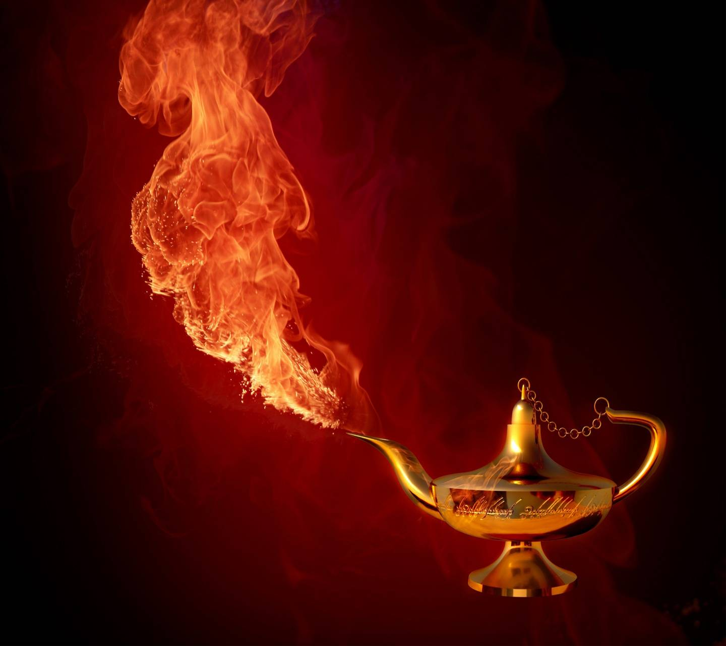 Genie From Fire