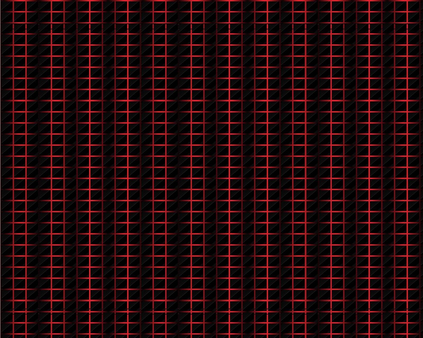 Black red mesh