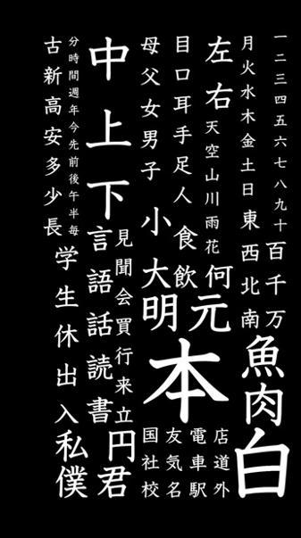 Japanese Basic Kanji