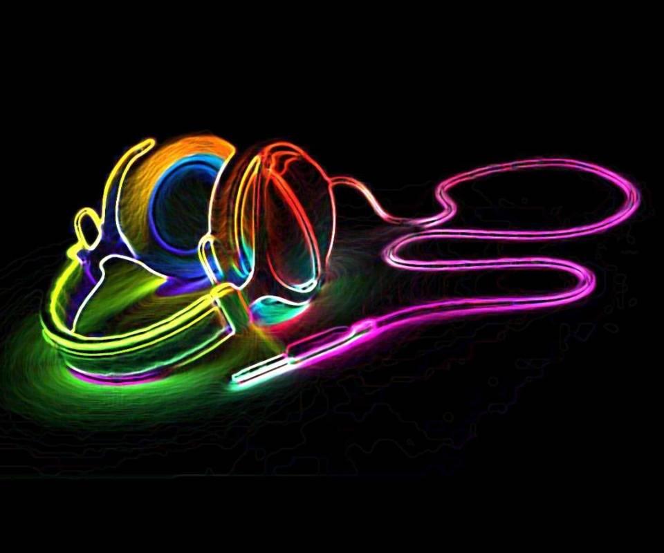 Rainbow Headphones