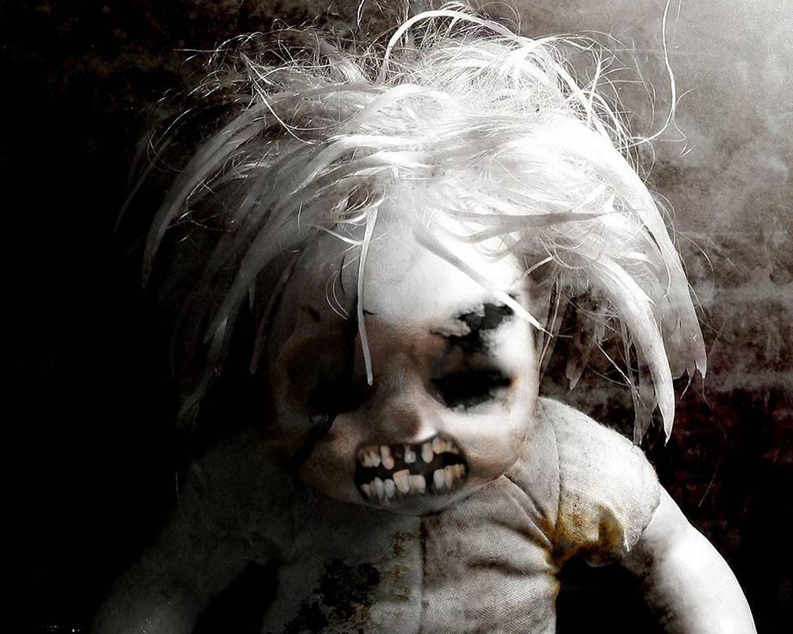 Scary Doll Wallpaper by gpunit - af