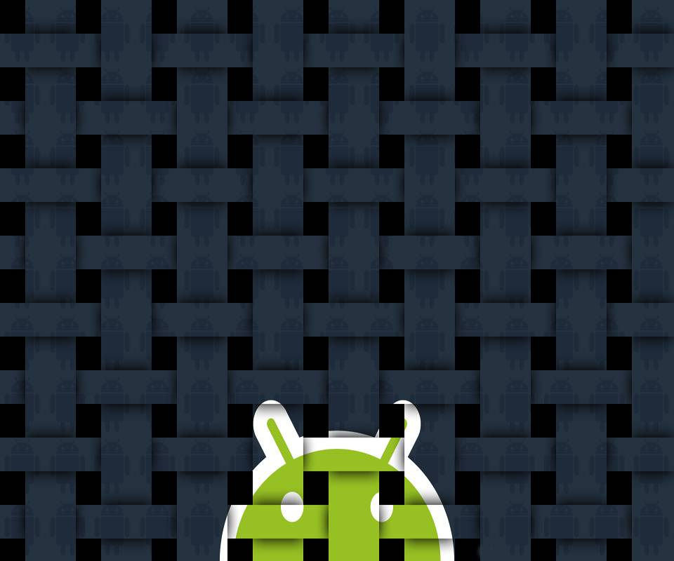 Cross Stiched Droid