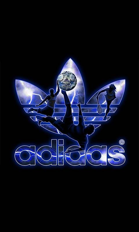 adidas old logo
