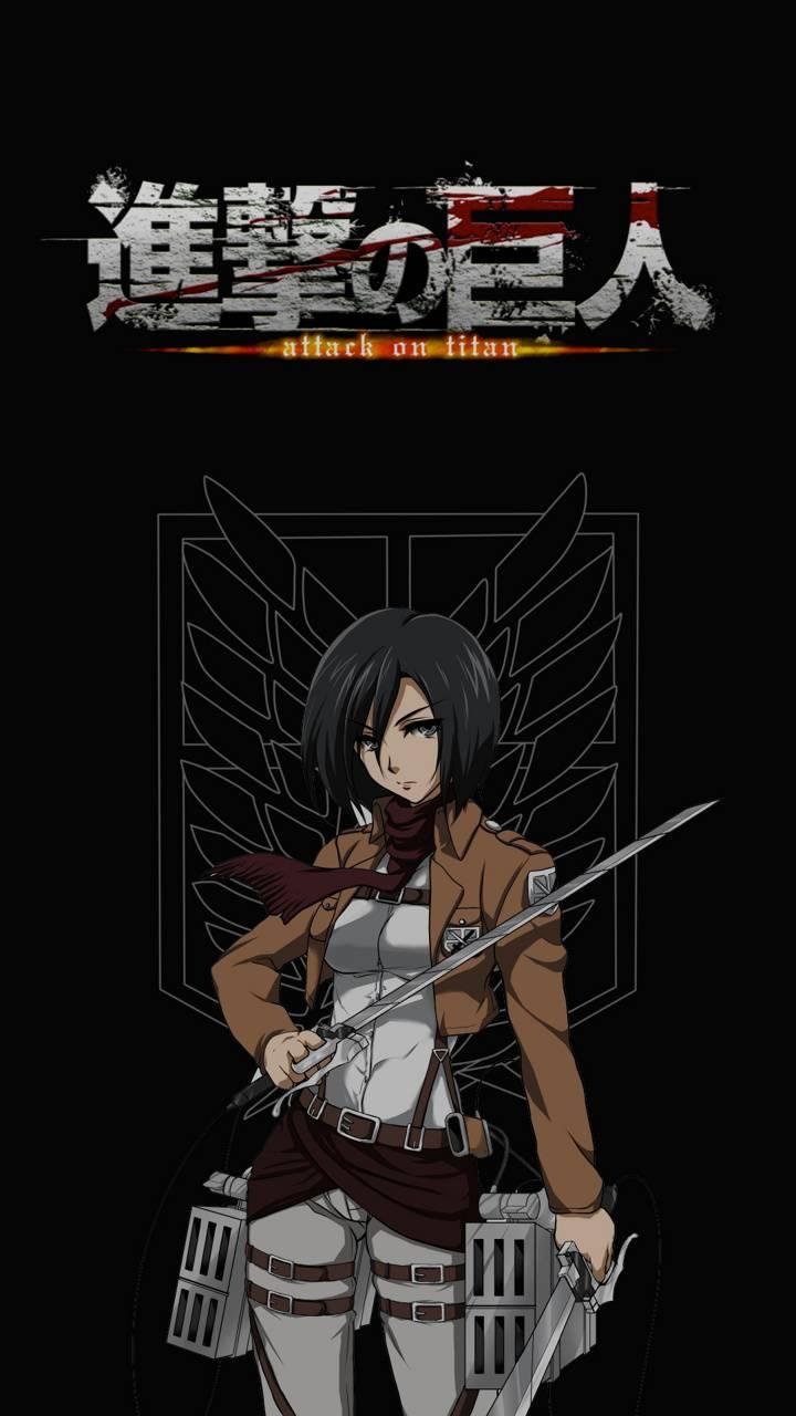 Mikasa Attack Titan Wallpaper By Edusaborio A8 Free On Zedge