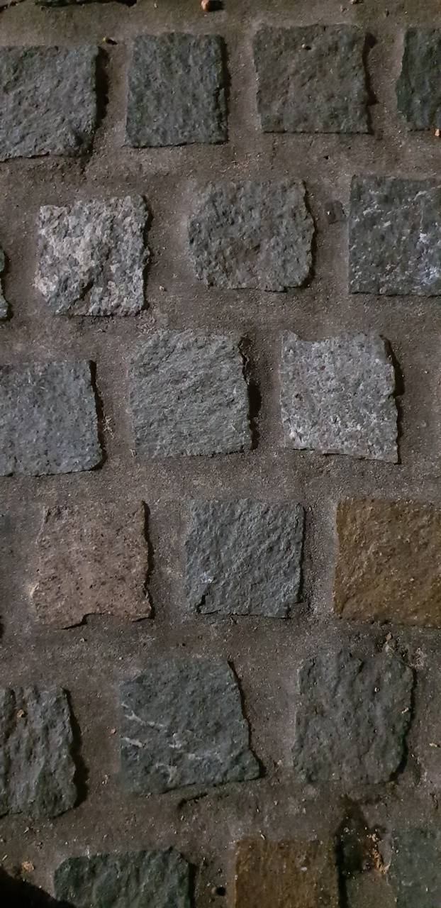 Paved brick