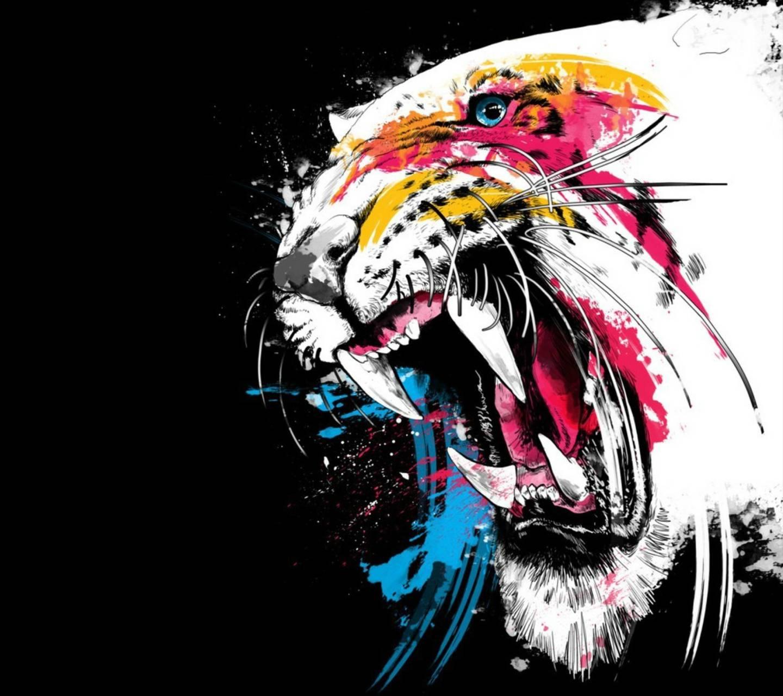 Tiger Colorfull