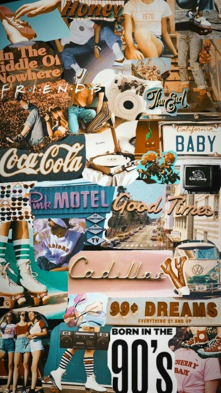 Vintage Collage Wallpaper By Gid5th 69 Free On Zedge