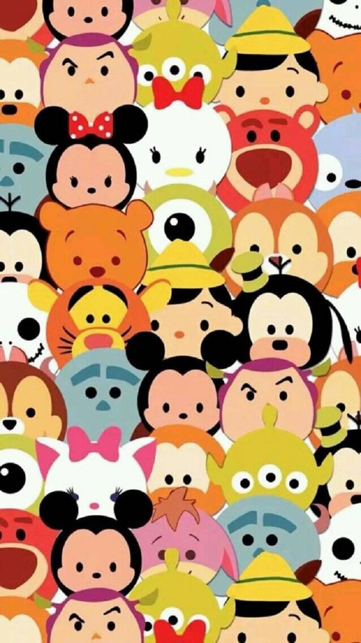 Disney Tsum Tsum wallpaper by zakum1974