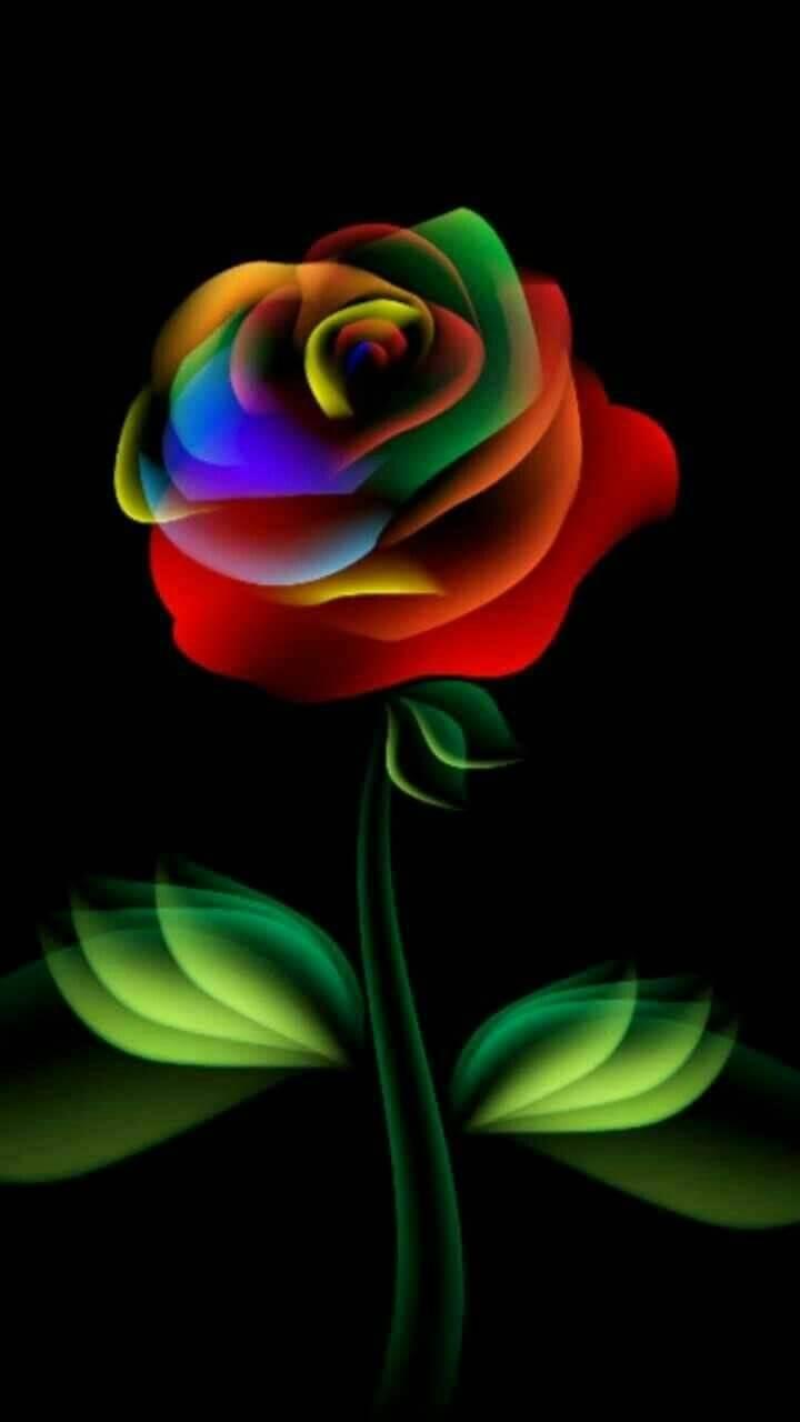 Neon Flower Wallpaper By Kelliekat69 3f Free On Zedge