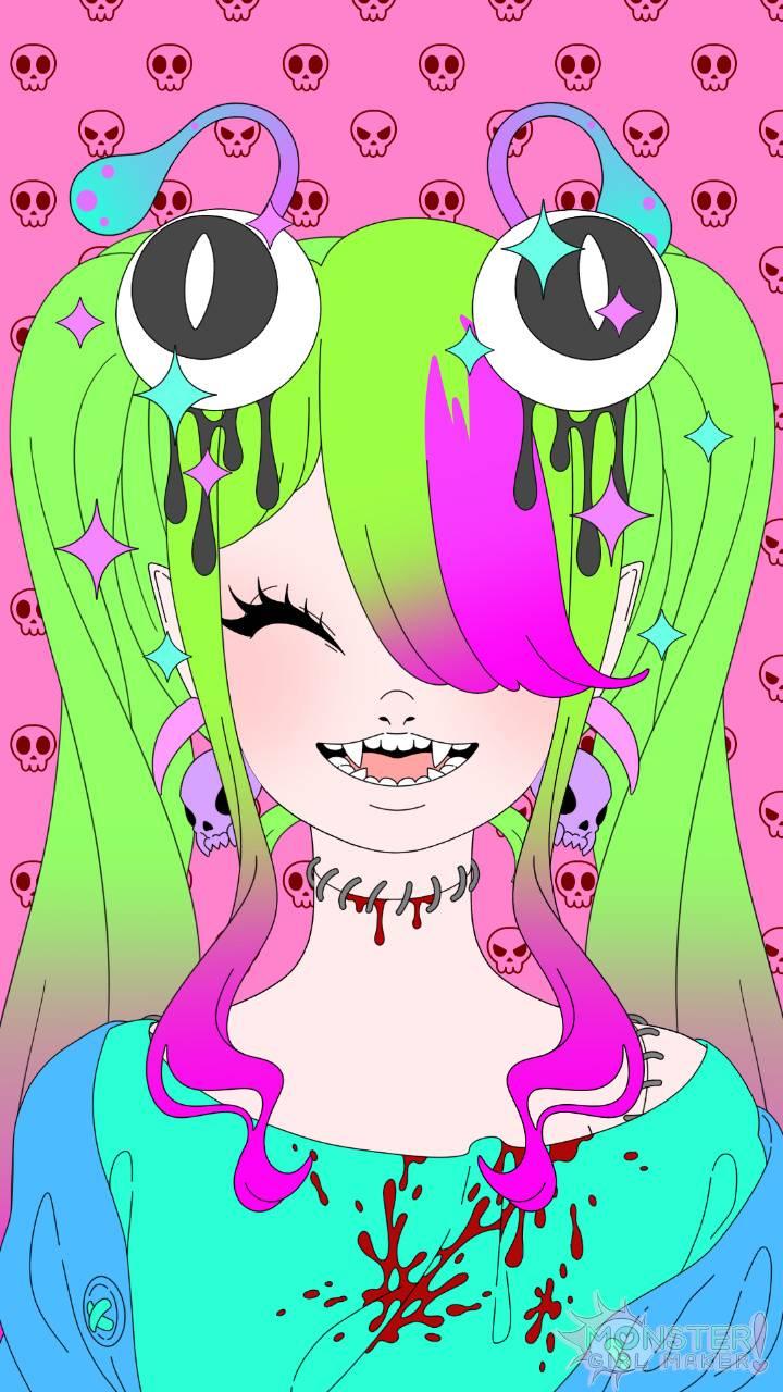 Cute monster girl 2