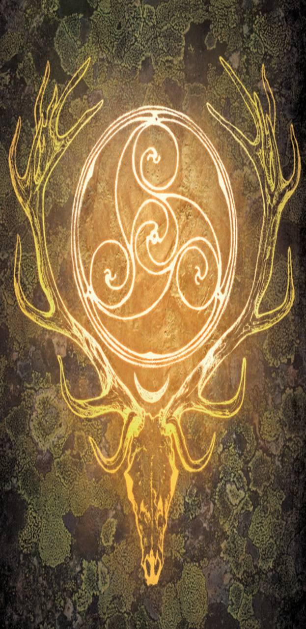 Stag Celtic pagan