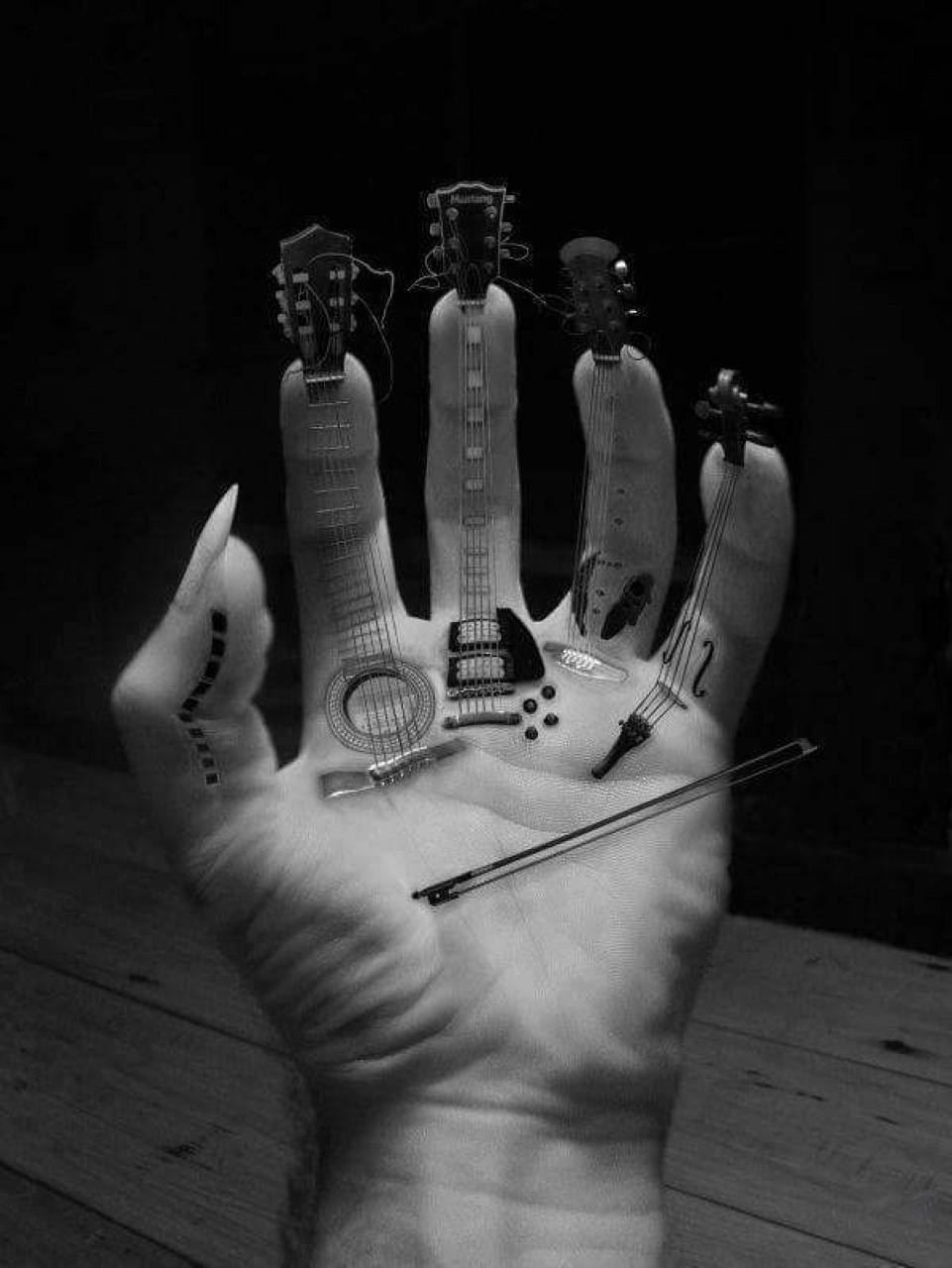 Guitarist Finger
