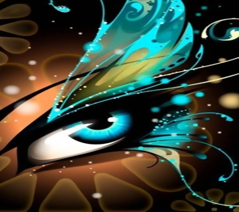 Blue Eye Butterfly