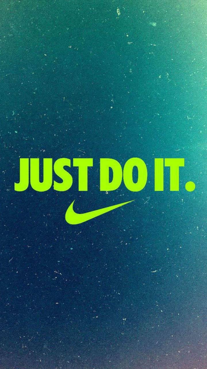 Lime green Nike jdi