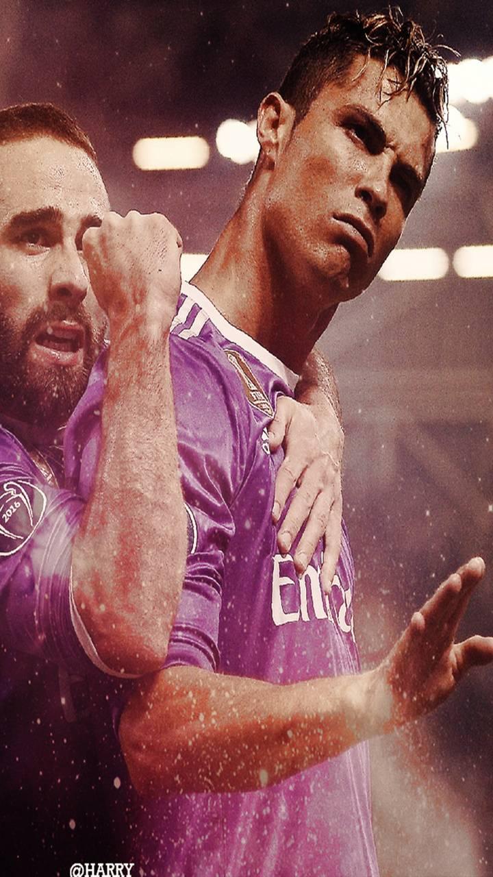 Ronaldo and Carvajal