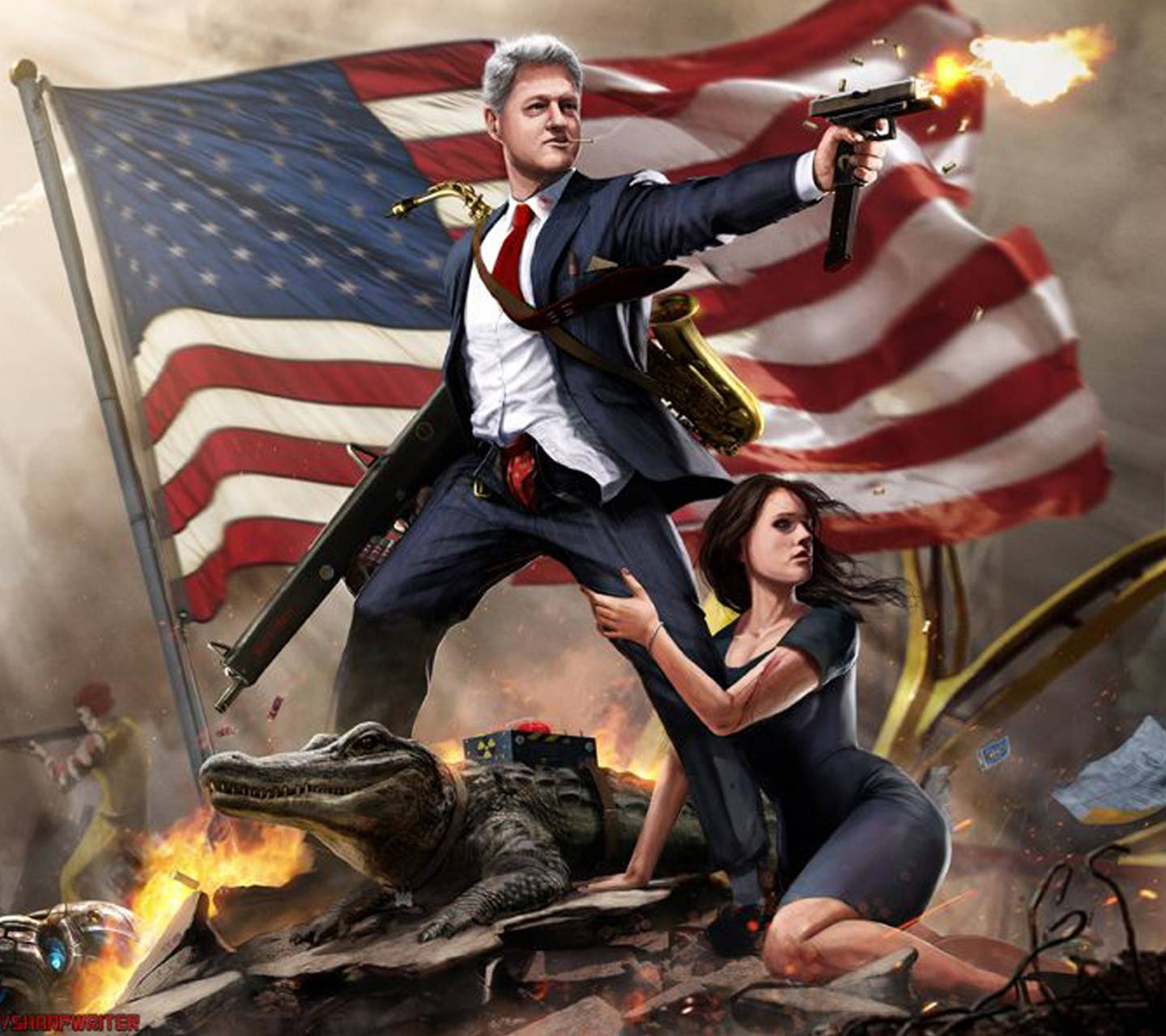 American Guns Wallpaper By Costasfe A0 Free On Zedge