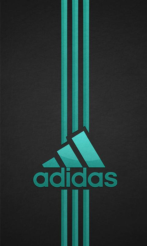 Adidas blue logo