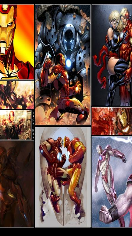 Iron Man Panels
