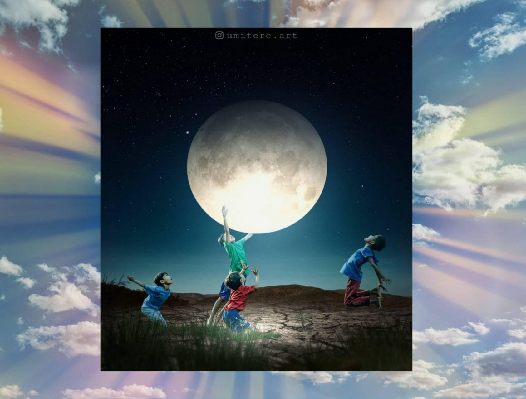 Frolic in the moon