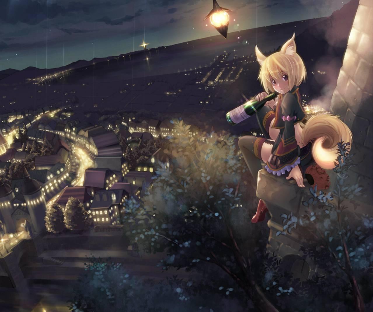 Hanging Fox