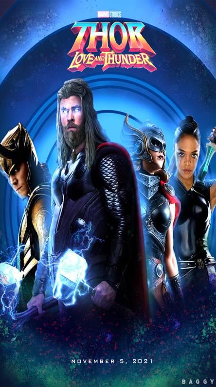 Thor Love and Thund
