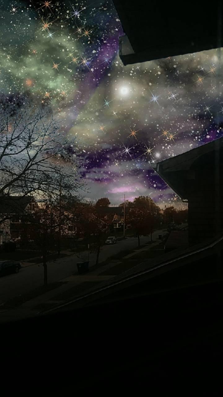 Galaxy sky