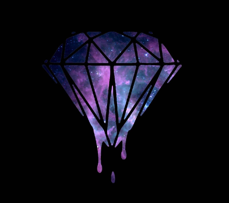 Melting Diamond wallpaper by