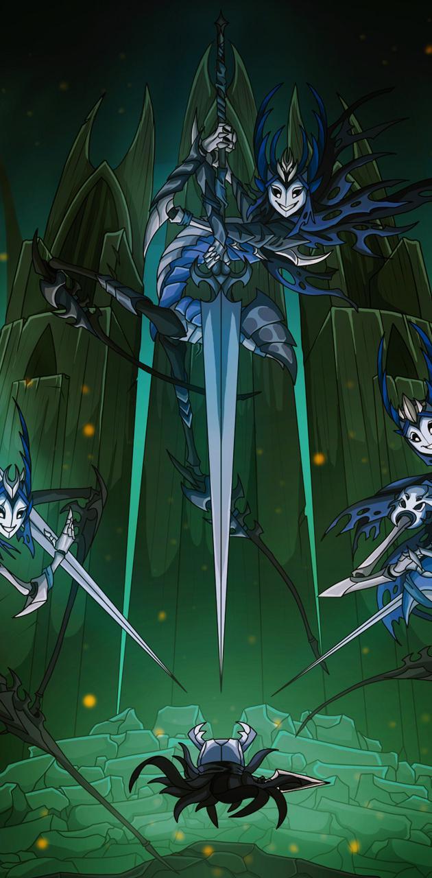 Hollow Knight Mantis